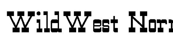 WildWest Normal Font