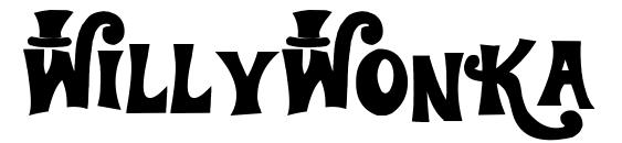 WillyWonka Font, Monogram Fonts