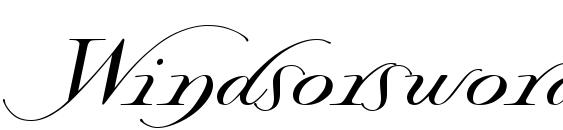 Windsorsword Font, Handwriting Fonts