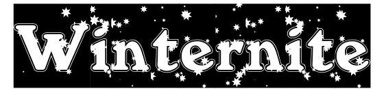 Winternite Font, Christmas Fonts