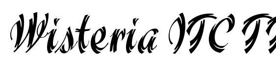 Wisteria ITC TT Font, Retro Fonts