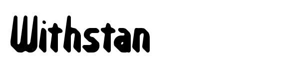 Withstan Font, Sans Serif Fonts