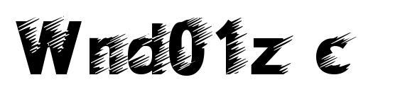 Wnd01z c Font, Christmas Fonts