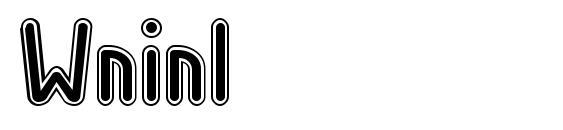 Wninl Font, Retro Fonts