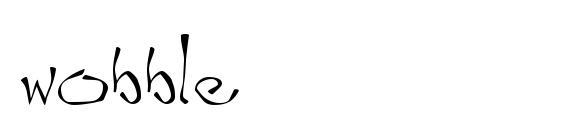 Wobble Font