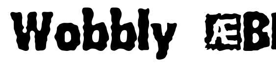 Wobbly (BRK) Font