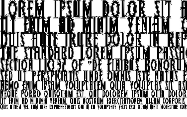 specimens Wolf4p font, sample Wolf4p font, an example of writing Wolf4p font, review Wolf4p font, preview Wolf4p font, Wolf4p font