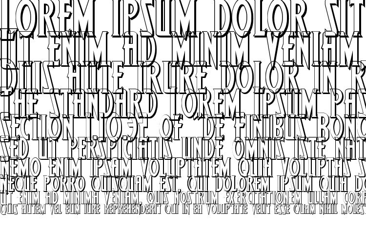 specimens Wolf4s font, sample Wolf4s font, an example of writing Wolf4s font, review Wolf4s font, preview Wolf4s font, Wolf4s font