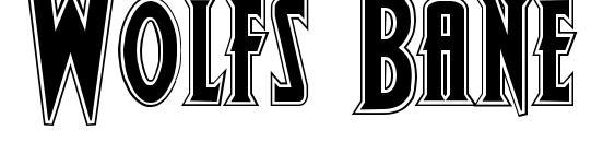 Wolfs Bane Bold Pro Font