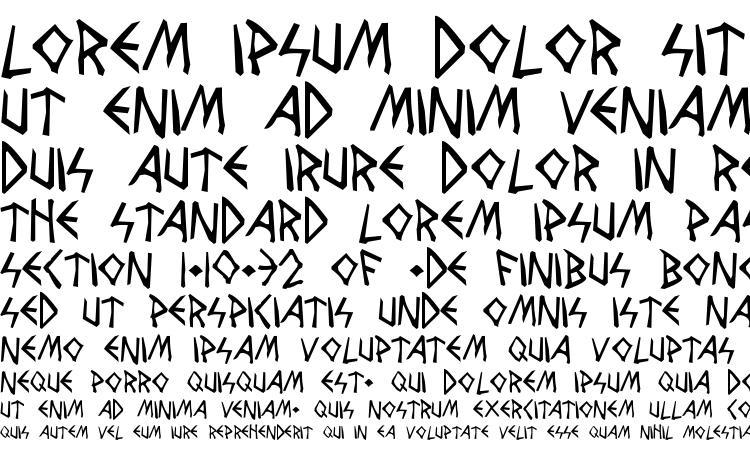 specimens Wolves and Ravens font, sample Wolves and Ravens font, an example of writing Wolves and Ravens font, review Wolves and Ravens font, preview Wolves and Ravens font, Wolves and Ravens font