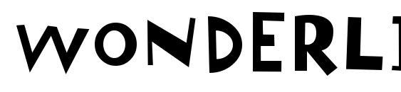 Шрифт Wonderlism, Шрифты без засечек