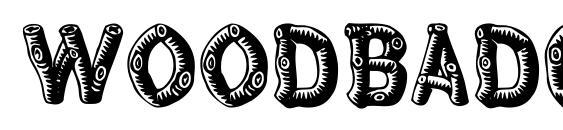 Woodbadge Font, Sans Serif Fonts