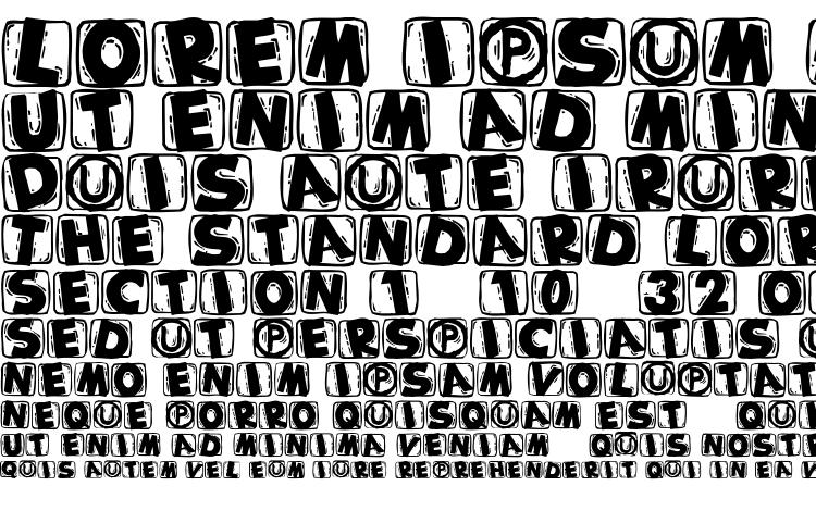 specimens Woodcuttedcapsblack font, sample Woodcuttedcapsblack font, an example of writing Woodcuttedcapsblack font, review Woodcuttedcapsblack font, preview Woodcuttedcapsblack font, Woodcuttedcapsblack font