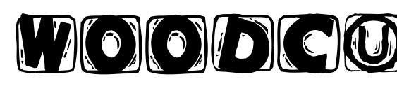 Woodcuttedcapsblack Font, Sans Serif Fonts