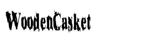 WoodenCasket Font