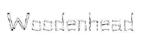 Woodenhead Font