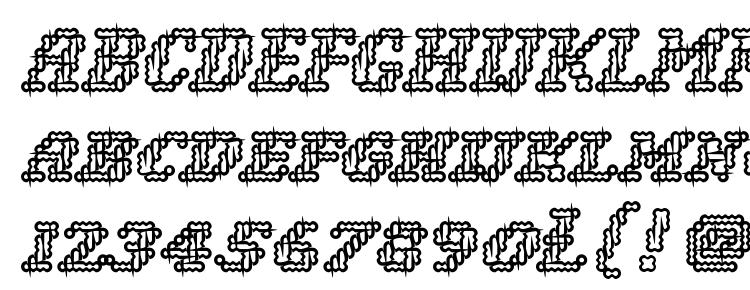 glyphs Woolly inline font, сharacters Woolly inline font, symbols Woolly inline font, character map Woolly inline font, preview Woolly inline font, abc Woolly inline font, Woolly inline font