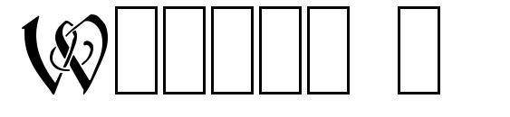 Wraith 1 Font, Monogram Fonts