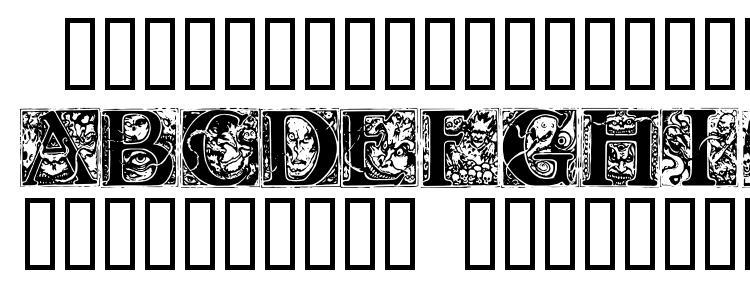glyphs Wraith caps font, сharacters Wraith caps font, symbols Wraith caps font, character map Wraith caps font, preview Wraith caps font, abc Wraith caps font, Wraith caps font