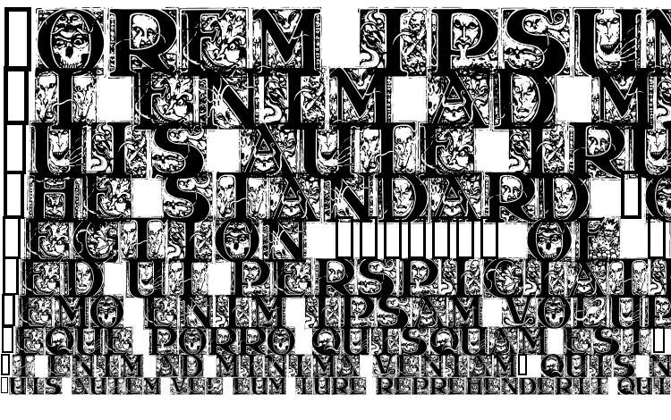 specimens Wraith caps font, sample Wraith caps font, an example of writing Wraith caps font, review Wraith caps font, preview Wraith caps font, Wraith caps font
