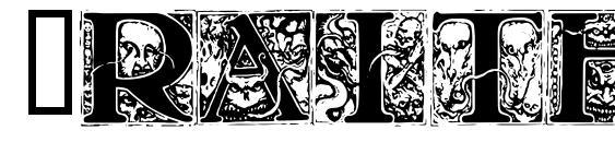 Wraith caps Font, Retro Fonts