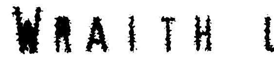 Шрифт Wraith lite, Рождественские шрифты