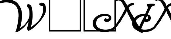Wrenn Initials Bold Font