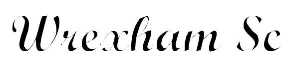 Wrexham Script Light Font, Pretty Fonts