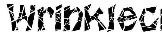 Wrinklecut Font, Christmas Fonts