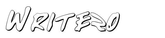 Write2o Font, Sans Serif Fonts