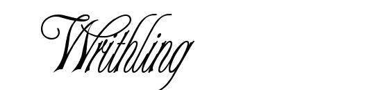 Writhling Font, Handwriting Fonts