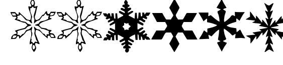 WWFlakes Font, Christmas Fonts