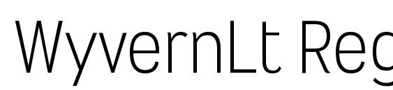WyvernLt Regular Font