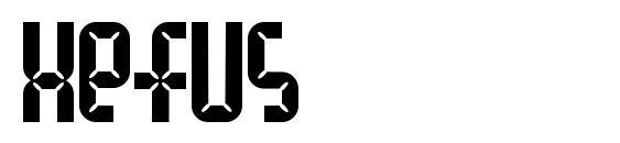 Xefus Font, Retro Fonts