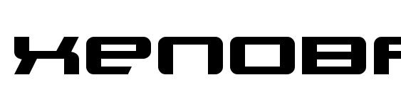 Xenobrod Font