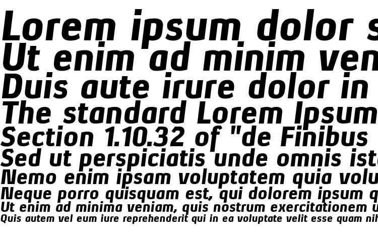 specimens XenuBl Italic font, sample XenuBl Italic font, an example of writing XenuBl Italic font, review XenuBl Italic font, preview XenuBl Italic font, XenuBl Italic font