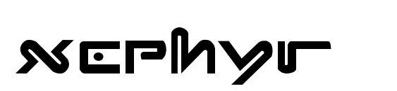Xephyr Font, Monogram Fonts