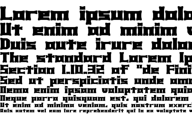specimens Xhume BRK font, sample Xhume BRK font, an example of writing Xhume BRK font, review Xhume BRK font, preview Xhume BRK font, Xhume BRK font