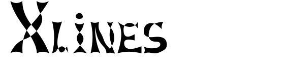 Xlines Font