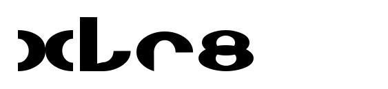 Xlr8 Font
