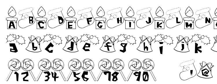 glyphs Xmas font font, сharacters Xmas font font, symbols Xmas font font, character map Xmas font font, preview Xmas font font, abc Xmas font font, Xmas font font