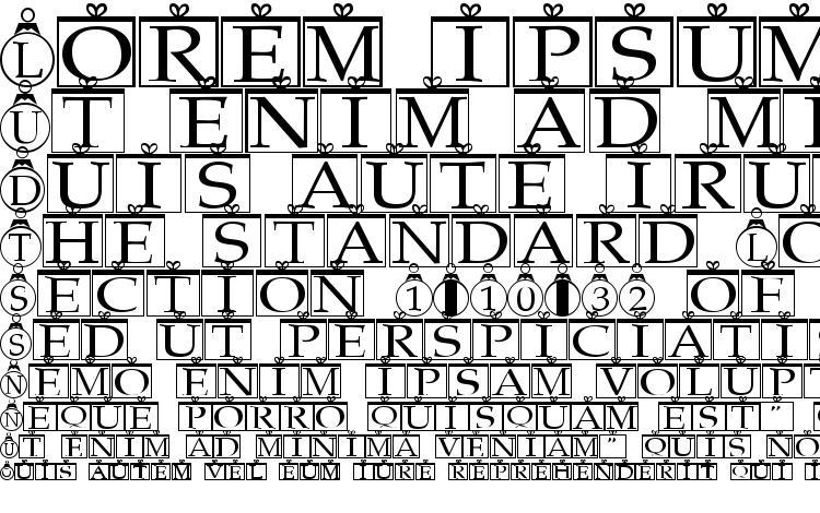specimens Xmas Regular font, sample Xmas Regular font, an example of writing Xmas Regular font, review Xmas Regular font, preview Xmas Regular font, Xmas Regular font