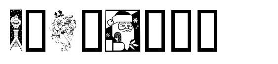 Xmasclp2 Font, Christmas Fonts