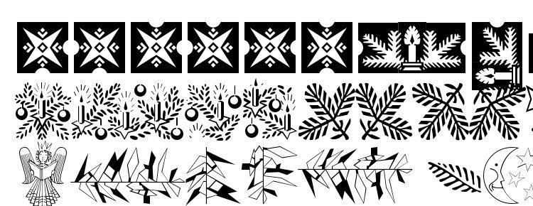 glyphs Xmasornament2 font, сharacters Xmasornament2 font, symbols Xmasornament2 font, character map Xmasornament2 font, preview Xmasornament2 font, abc Xmasornament2 font, Xmasornament2 font