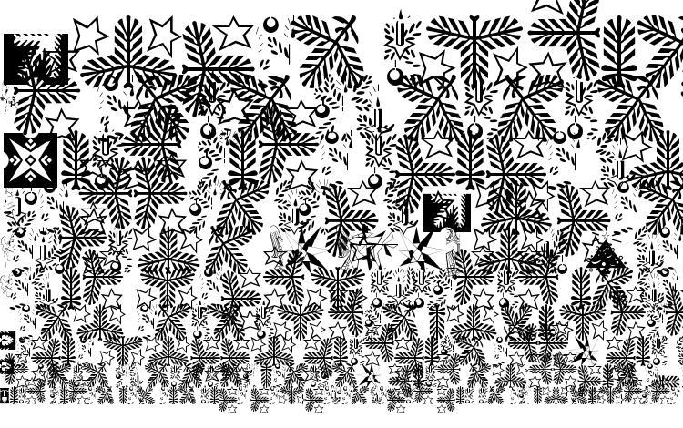 specimens Xmasornament2 font, sample Xmasornament2 font, an example of writing Xmasornament2 font, review Xmasornament2 font, preview Xmasornament2 font, Xmasornament2 font