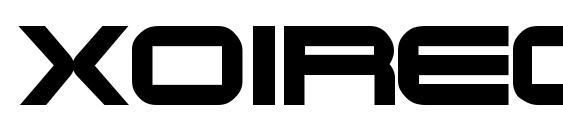 Xoireqe Font, Sans Serif Fonts
