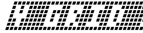 Y Grid Italic Font
