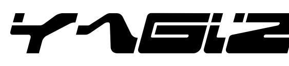 Yagiza Font