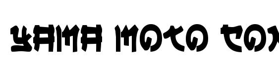 Yama Moto Condensed Font