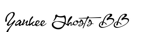 Yankee Ghosts BB Font, Elegant Fonts